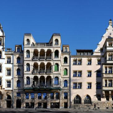 Der Dittrichring zwischen Thomaskirche und Barfußgäßchen
