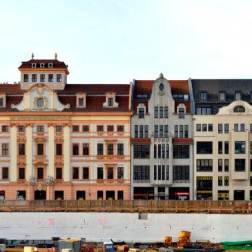 Freier Blick auf den Leipziger Brühl