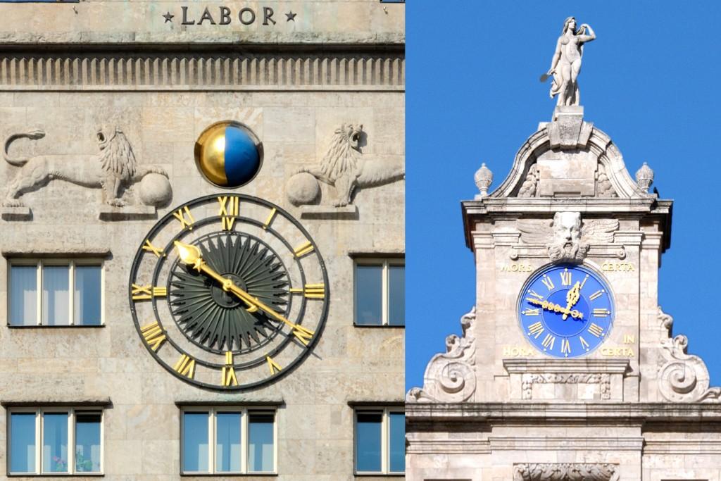 Uhrwerke am Leipziger Ring