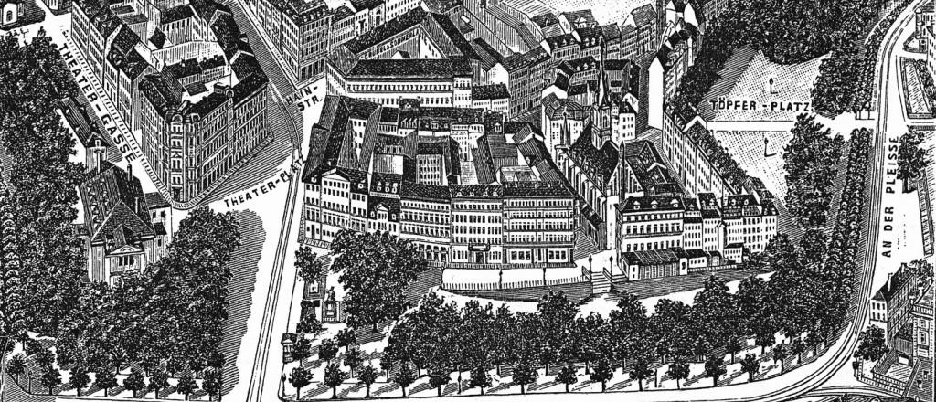 altes Bild Leipzig 1893