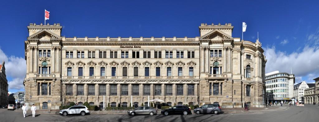 Deutsche Bank Architektur Leipzig